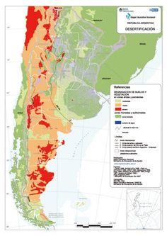 Este pin muestra la desertificacion en las distintas provincias de Argentina.