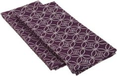 DII Basics Infinity Jacquard Eggplant Dishtowel, Purple, Set of 2 by DII. $11.00. Measures 18 by 28-inch. DII Basics Dishtowels. Set of 2 dishtowels. 100-percent cotton. Machine washable. Set of 2 Infinity Jaqcuard dishtowels. Each dishtowel measures 18 by 28-inch, 100-Percent Cotton and machine washable.