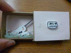 Narwhals Matchbox Diorama.: