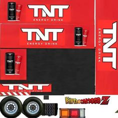 Skin Images, Mini Things, Custom Trucks, Energy Drinks, Card Stock, Words, Heavy Truck, Kenworth Trucks, Cardboard Toys