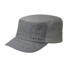 d67083500a7 Textured Wool Army Cap. Hats ...