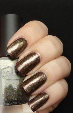 "Color Club ""Nouveau Vintage"" --I have this polish, but now I need nails like those! LOL"