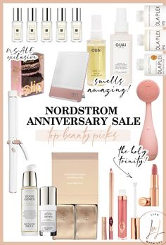 Rounded up all my favorite pieces from each category! And let me tell ya honey, there are some AWESOME pieces included in this years #NSALE that you won't want to miss! #Nordstrom #NordstromAnniversary #SalePicks Sunday Riley, Try Your Best, Good Genes, Nordstrom Anniversary Sale, Hair Oil, Beauty, Beleza