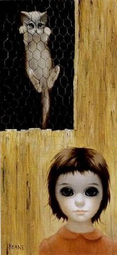 """""""The Lookout"""" by Margaret Keane"""