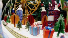 Kiehl's city (Loreal). Christmas decoration.