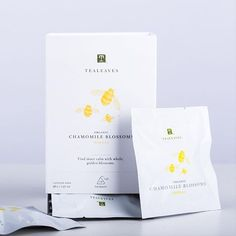 Feeling #Calm and Symbolism of the Bee: Organic Chamomile Blossoms' tranquil qualities help the body unwind. Carefree days filled with calm and comfort evokes the nostalgia of lying in a field, the gentle hum of bees happily drifting by with golden treasu