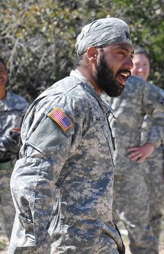 """I am a Sikh warrior"" by The U.S. Army, via Flickr"