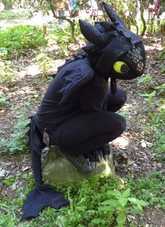 Toothless Cosplay by *aThousandPaws on deviantART