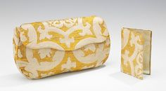 Evening clutch, (attributed) Lord & Taylor, 1933-1934, probably French, silk, metal, 8 in. (20.3 cm)