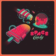 Space Candy! on Behance