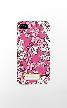 Lilly Pulitzer - Alpha Phi. if only i had an iPhone...