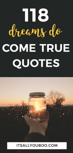 118 Inspirational Quotes About Making Dreams Come True Dreams Come True Quotes, Make Dreams Come True, My Dream Came True, Dream Quotes, Quotes To Live By, Wall Art Quotes, You Gave Up, Life Goals, Dream Life