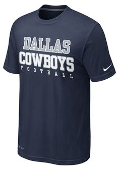 Dallas Cowboys Nike Men's Navy Dri-FIT Legend Practice T-Shirt http://www.rallyhouse.com/nfl/nfc/dallas-cowboys/a/mens/b/t-shirts/c/short-sleeve?utm_source=pinterest&utm_medium=social&utm_campaign=Pinterest-DallasCowboys $30.00