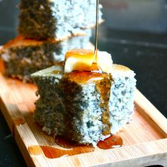 blue corn bread.