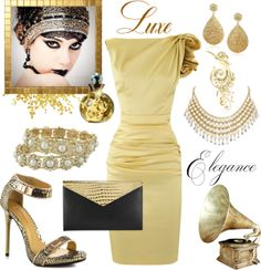 """As Good As Gold"" by girlieques on Polyvore"