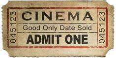 Hi Res Old Movie Tickets