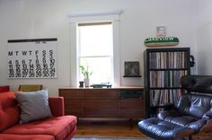 record collection and stereo