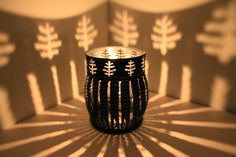 Tree Luminary candle holder tea light patio by LuminaryLights
