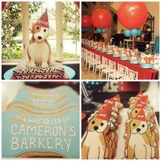 Birthday Party Ideas - Blog - (PRECIOUS) PUPPY DOG PARTY ~ BIRTHDAY PARTY IDEAS ~ PAWTY ~BARKERY