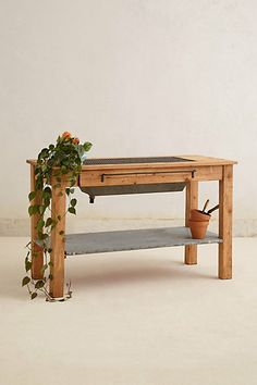 Reclaimed Potting Table  #anthropologie http://www.anthropologie.com/anthro/product/home-furniture/27431568.jsp