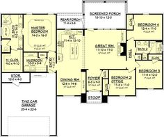 2,000 sq. ft. - One of the best small floor plans I've seen (not for me, but worth saving)