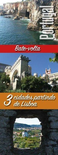Roteiro de uma viagem de carro partindo de Lisboa para conhecer 3 cidades que ficam bem perto da capital portuguesa e que merecem e muito serem visitadas.
