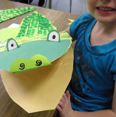 Cassie Stephens: Croc-O-Nile Puppetry