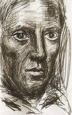Picasso - autoritratto 1917