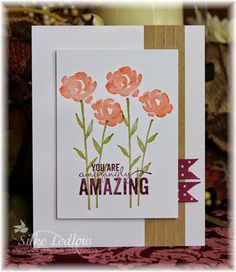 Hello my sweet stampin friends! Hope you all had a great start back to work or school? Its nice...