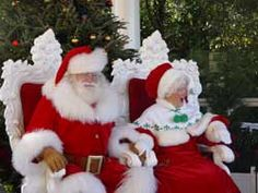 Sit on Santa's lap....Hope he's a hearty Santa this year!