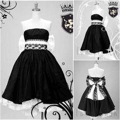VOCALOID 2 LUKA RUKA Black Dress Haloween Cosplay Party Costume Custom Any Size #Unbranded #Dress