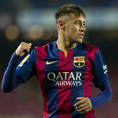 """Two-goal Neymar pleased with a fine display  Neymar: """"Estic molt content pel partit que hem fet""""  Neymar: """"Estoy muy contento por el partido que hemos hecho""""  #Neymar #FCBarcelona @fcbarcelona @neymarjr"""