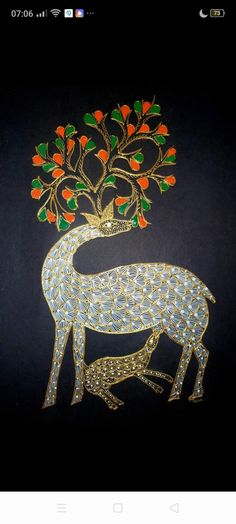Gond Painting, Packing Ideas, Indian Folk Art, Paintings, Gifts, Home Decor, Presents, Decoration Home, Paint