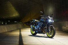 Yamaha has released further details on the latest addition to the Yamaha MT range – the Since its unveiling in Milan last year, Yamaha has been very secretive about the new bike's specifications. Ducati, Motos Yamaha, Yamaha Mt, Yamaha Motorcycles, Touring Motorcycles, Mt 10, Hummer, Cafe Racers, Car Wallpapers