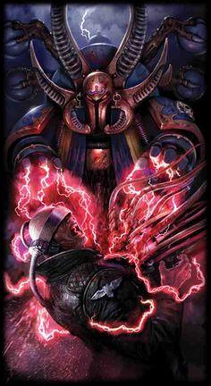 Azek Ahriman, Sorceror Supreme of the Thousand Sons