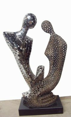 1000 images about abstract sculptures on pinterest for Modern home decor objects