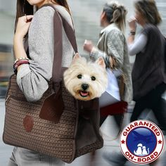 Sherpa 94279 Tote Around Town Boston Pet Carrier, Medium, Tweed >>> To view further, visit now : Products for dogs