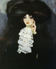 Woman with Frill by Kees van Dongen, 1911