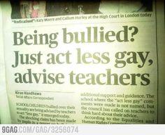 Teacher Advice FAIL!