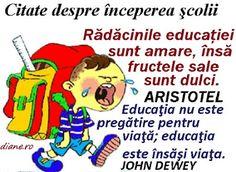 diane.ro: Citate despre începerea şcolii