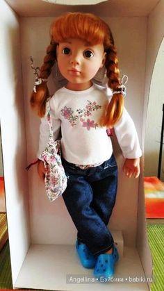 Чудеса еще случаются...новая кукла София шарнирная от Готц 2012 г. / Куклы Gotz - коллекционные и игровые Готц / Бэйбики. Куклы фото. Одежда для кукол