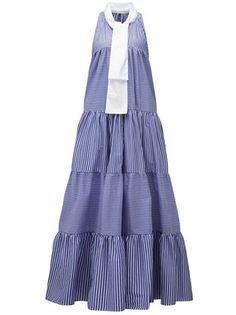Lisa Marie Fernandez Striped Panelled Dress - Kirna Zabête - Farfetch.com