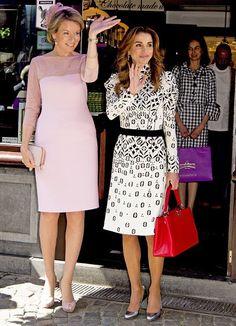 King Abdullah and Queen Rania state visit to Belgium