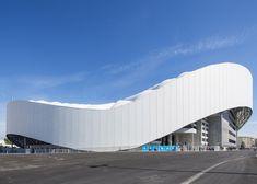 SCAU adds undulating roof to Marseille football stadium