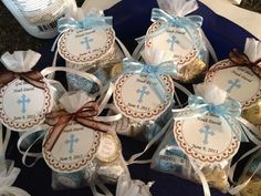 Noah's Baptism Favors Christening Party Favors, Baptism Favors, Baptism Themes, Baptism Ideas, Baby Dedication, Baby Christening, Party Needs, First Communion, Scrap
