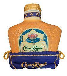 Crown Royal/ Alcohol Bottle Cake - Sugar Divas Cakery | Orlando | Cupcakes | Custom Cakes