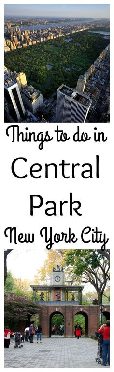 Heading to New York City? Want to find things to do in New York City. Visit Central Park. You spend a week finding things to do in Central park.