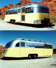 #Vintage travel trailer camper