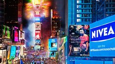 i didnt see it happen last night so i watched it 3 times tonight after work happy new year everybody 2014 time square ball drop new york city new years