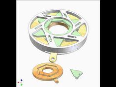 Diaphragm shutter 5b - YouTube